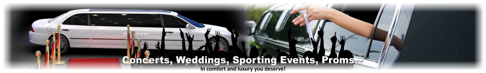Concerts, Sporting Events, Weddings, Proms Limousine Service in Illinois by Affordable Limo Inc