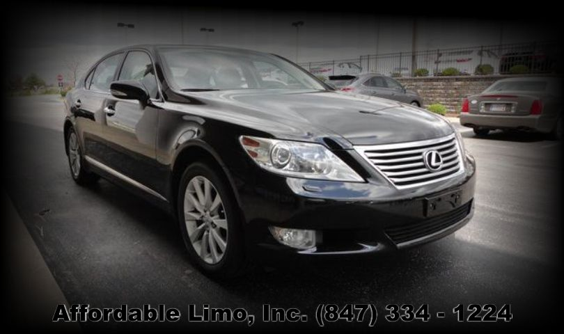Lexus LS 460L 3 passenger luxury sedan limo Affordable Limo Inc. post slider