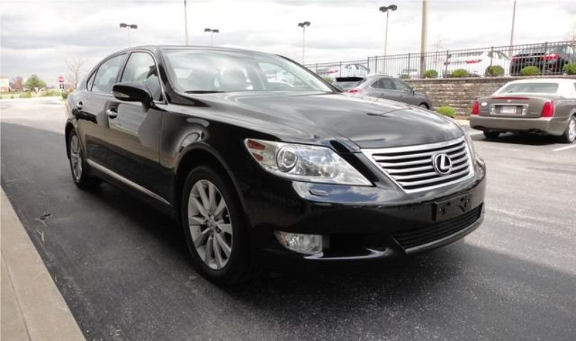 Lexus LS 460L 3 passenger luxury sedan limo front by Affordable Limo Inc.