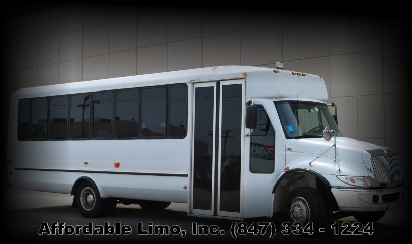 Limo Bus 34 passanger exterior Affordable Limo Inc post slider