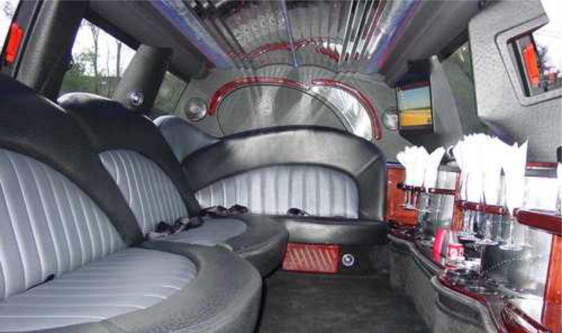 Lincoln Navigator 14 passanger SUV limo interior1 Affordable Limo Inc