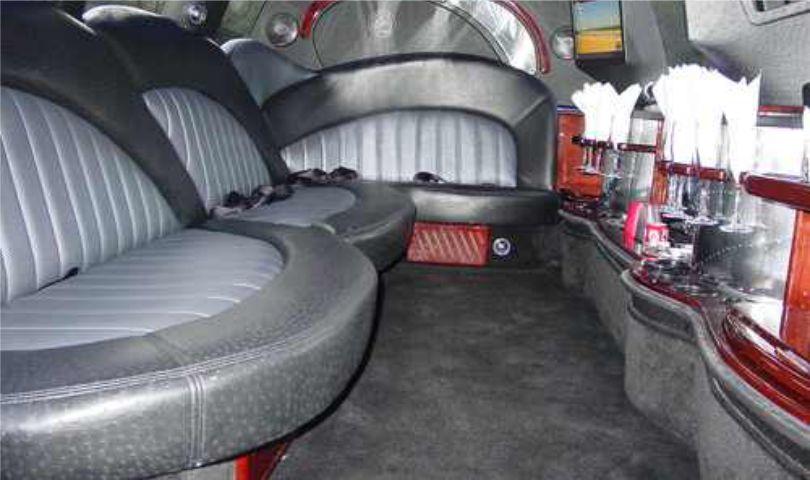 Lincoln Navigator 14 passanger SUV limo interior2 Affordable Limo Inc