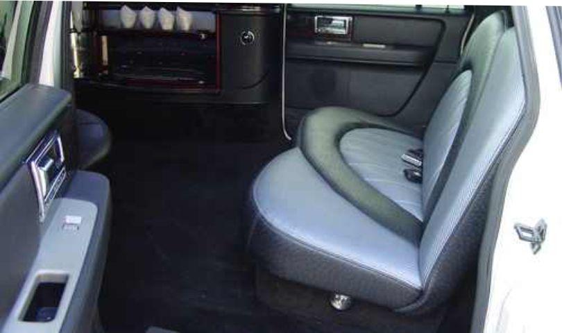 Lincoln Navigator 14 passanger SUV limo interior3 Affordable Limo Inc