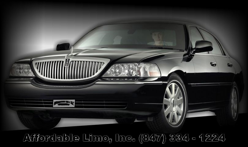 Lincoln Town Car 3 passenger sedan Affordable Limo Inc. post slider
