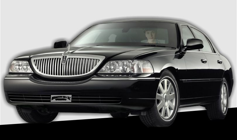 Lincoln Town Car 3 passenger sedan Affordable Limo Inc.