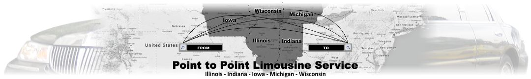 Point to Point Limousine Service in Chicago Heights IL
