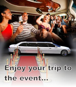 Enjoy you trip in our entertainment event limousine in Ramsey IN